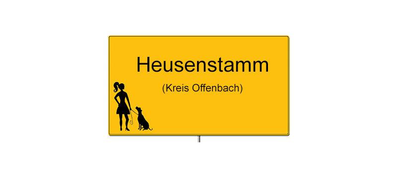 Ortsschild Heusenstamm