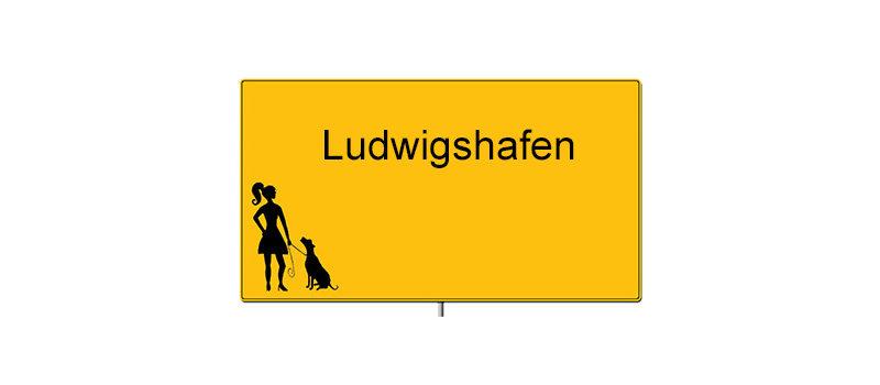 Ortsschild von Ludwigshafen