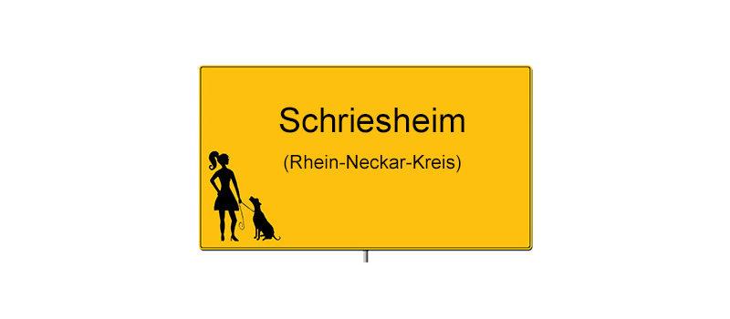 Ortsschild Schriesheim