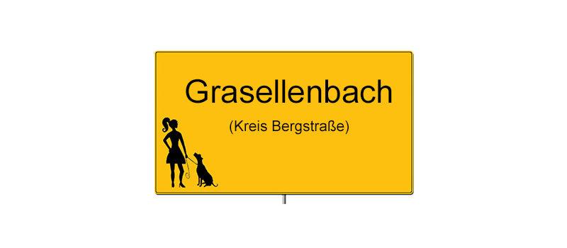 Ortsschild Grasellenbach
