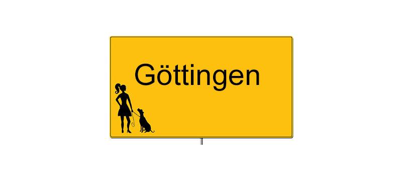 Ortsschild Goettingen