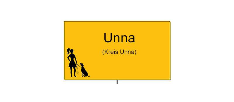 Ortsschild Unna